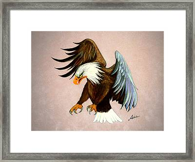 Dakota Framed Print by Adele Moscaritolo