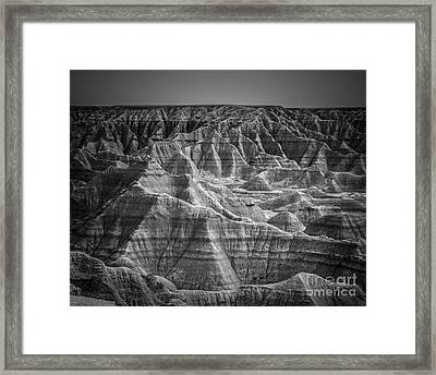Dakota Badlands Framed Print
