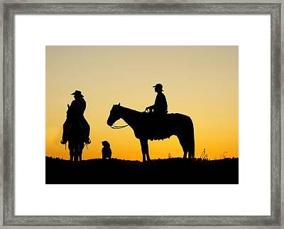 Dakota Morning Framed Print by Steven Bateson