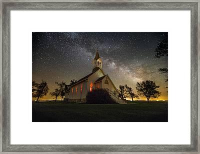 Dakota Territory Milky Way Framed Print