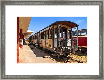 Dalat Plateau Rail Car Framed Print by Roberta Bragan