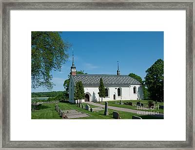 Dalby Church Framed Print