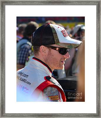 Dale Earnhardt Jr. Framed Print