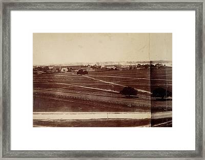 Dalhousie Barracks And Fort William Framed Print