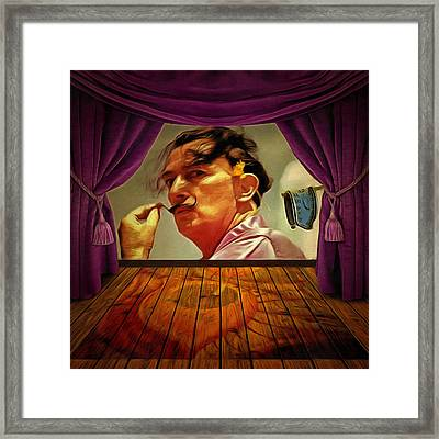 Dali Framed Print by Anthony Caruso