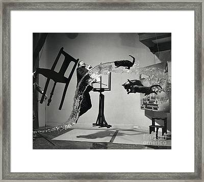 Dali Atomicus (1948) Framed Print by Library Of Congress