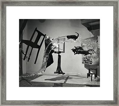 Dali Atomicus (1948) Framed Print