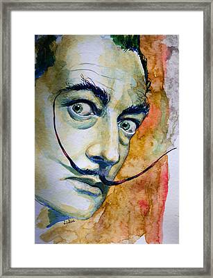 Framed Print featuring the painting Dali by Laur Iduc