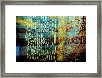 Dali Reflections Of Devon Framed Print