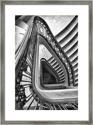 Dali Stairs Framed Print by Kate McKenna