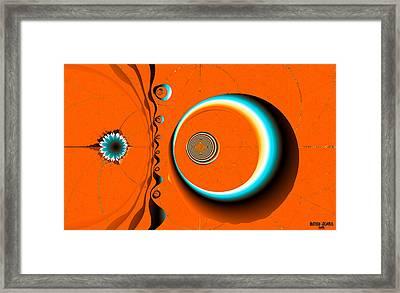 Dali's Desert Framed Print