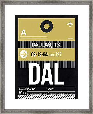 Dallas Airport Poster 2 Framed Print by Naxart Studio