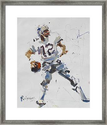Dallas Cowboys - Roger Staubach Framed Print