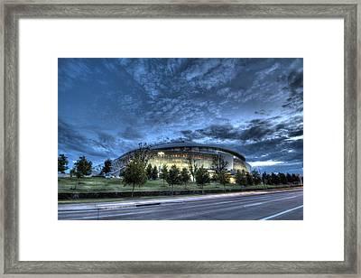 Dallas Cowboys Stadium Framed Print