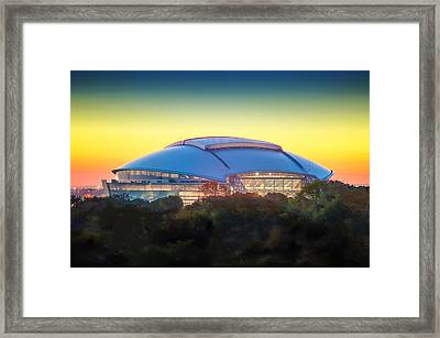 Home Of The Dallas Cowboys Framed Print