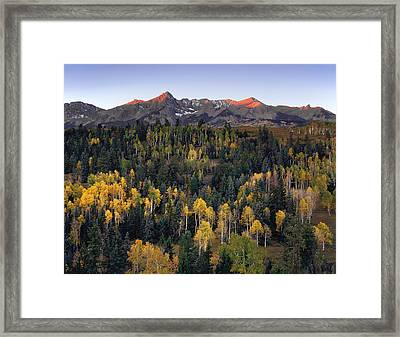 Dallas Divide Framed Print