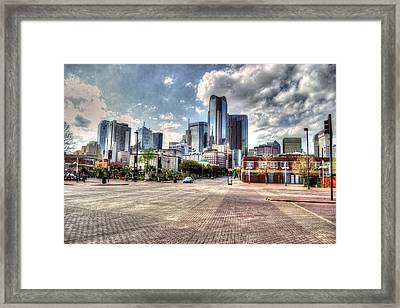 Dallas Near Farmers Market Framed Print