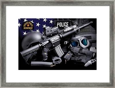 Dallas Police Framed Print
