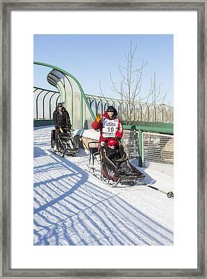 Dallas Seavey Iditarod Champ Framed Print by Tim Grams