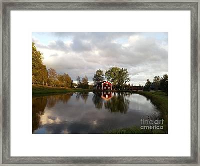 Dalsrud-reflection Framed Print