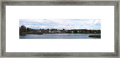 Damariscotta  Framed Print by Guy Whiteley