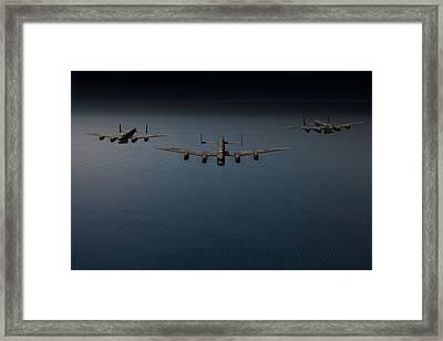 Dambusters Second Flight Framed Print by Gary Eason