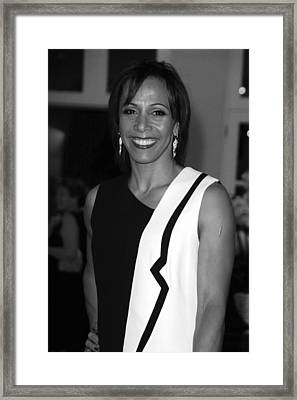 Dame Kelly Holmes 1 Framed Print by Jez C Self