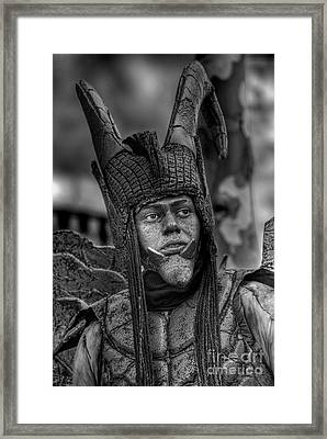 Framed Print featuring the photograph Damian by Erhan OZBIYIK