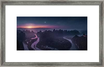 Damian Shan Framed Print