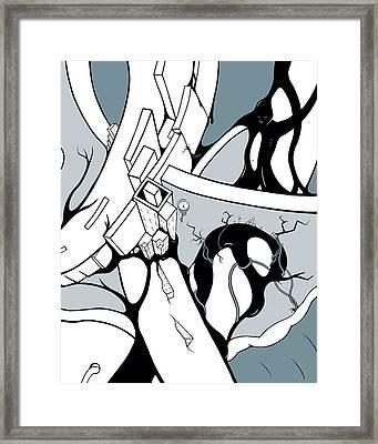 Dammed Framed Print by Craig Tilley