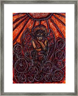 Damnation Framed Print by Rachel Scott
