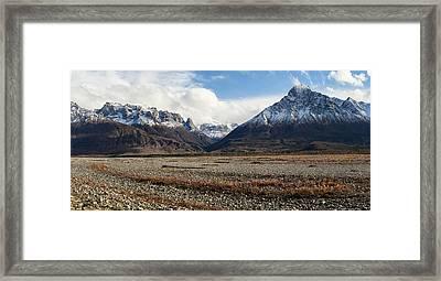 Dan Creek Williams Peak Framed Print