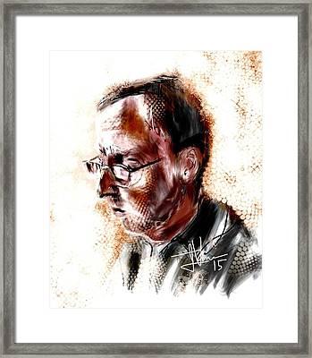 Dan Framed Print