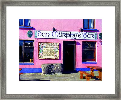 Dan Murphy's Bar Framed Print