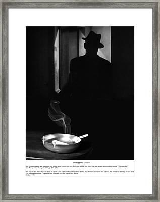 Danagger's Office Framed Print