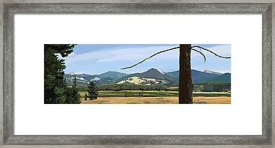 Danaher View Panorama Framed Print