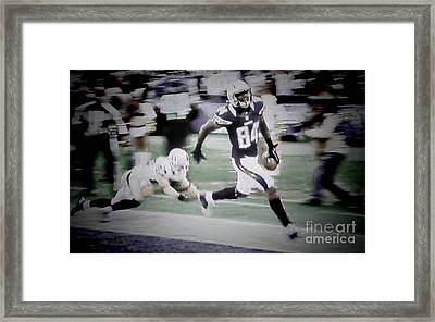 Danario Alexander - Chargers Framed Print by RJ Aguilar