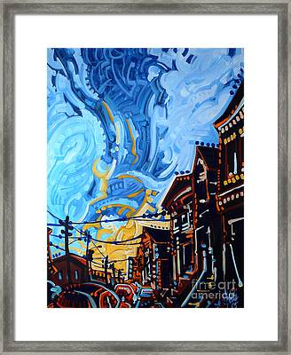Dana's Sky Framed Print by Michael Ciccotello