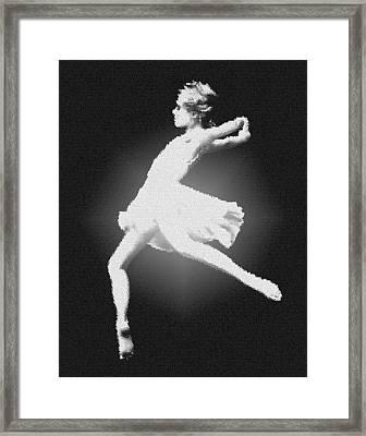 Dance - Glass Framed Print by Nicholas Evans