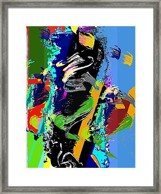 Dance 1 Framed Print by Jame Hayes