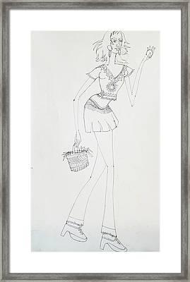 Dance-36 Framed Print