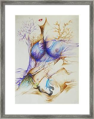 Dance-8 Framed Print by Bhanu Dudhat