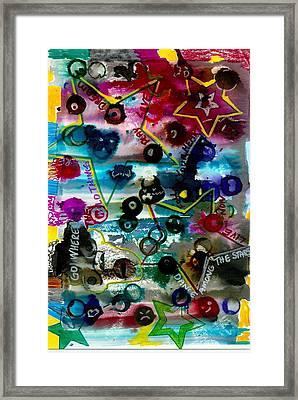 Dance Among Stars Framed Print