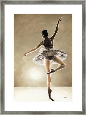 Dance Away Framed Print