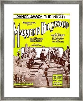 Dance Away The Night Framed Print by Mel Thompson