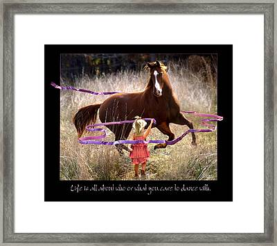 Dance Framed Print by Bill Stephens