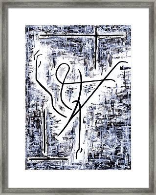 Dance Class Framed Print by Kamil Swiatek