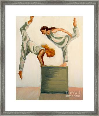 Dance Composition Framed Print by Whitney Morton