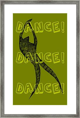 Dance Dance Dance Framed Print by Michelle Calkins
