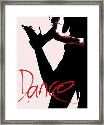 Dance Framed Print by Doug Walker